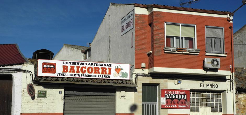 Fábrica - Conservas Baigorri
