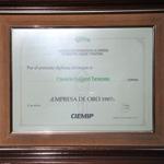 Conservas Baigorri - Empresa de Oro Confederación Internacional de Empresas, Marketing y Publicidad 1987