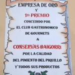 Conservas Baigorri - Pergamino Empresa de Oro